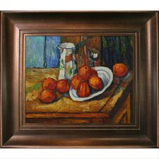 Bricoo, Bicchiere e Piato by Paul Cezanne Framed Original Painting