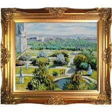 Les Tuileries, Musee Marmottan by Claude Monet Framed Original Painting
