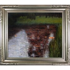 The Swamp by Klimt Framed Hand Painted Oil on Canvas
