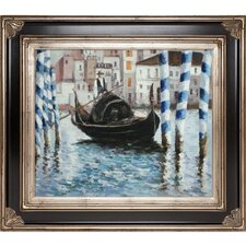 The Grand Canal, Venice II by Edouard Manet Framed Painting Print