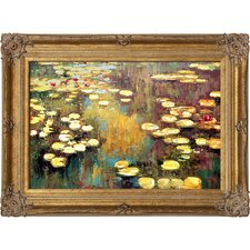 Water Lilies by Claude Monet Framed Painting