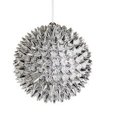 Beaded Spiky Christmas Ball Ornament