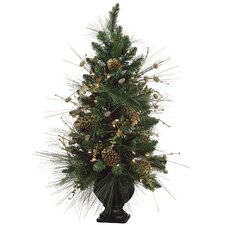 Pre Decorated Pine Cone Artificial Christmas Tree