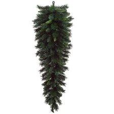 Artificial Pine Christmas Teardrop Swag