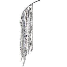 Splendor Iridescent Glitter Hanging Bead and Sequin Christmas Spray
