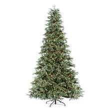 7' Pine Artificial Christmas Tree with Clear Light