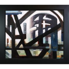 Cityscape by Clive Watts Framed Painting Print