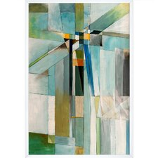 Icy Cross by Clive Watts Framed Painting Print