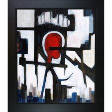 Pain by Clive Watts Framed Painting Print