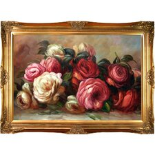 Discarded Roses by Pierre-Auguste Renoir Framed Painting Print