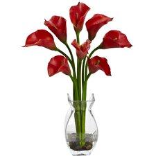 Classic Calla Lily Arrangement with Vase