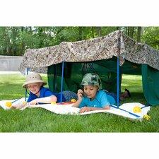 EZ Fort 54 Piece Building Kit Play Tent