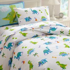 Olive Kids Dinosaur Land Duvet Cover