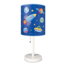 "Olive Kids Out of this World Cylinder 18"" Table Lamp with Drum Shade"