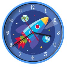 "Olive Kids Out of this World 12"" Wall Clock"