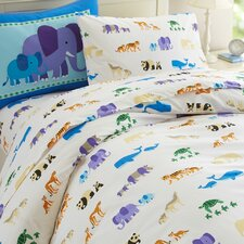 Olive Kids Endangered Animals Duvet Cover