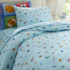 Olive Kids Game On Duvet Cover