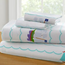 Olive Kids Pirates Toddler 210 Thread Count 100% Cotton Sheet Set