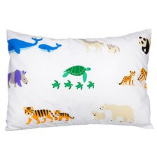 Endangered Olive Kids Cotton Pillow Cover
