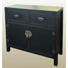 Chinese 2 Drawer 2 Door Cabinet