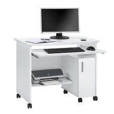 Melis Computer Table with Keyboard Tray