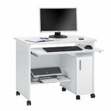 Computertisch Melis mit Tastaturauszug