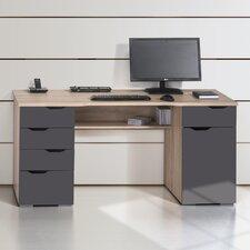 Schreibtisch mit Tastaturauszug