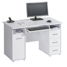 Office Computer Desk with Keyboard Tray
