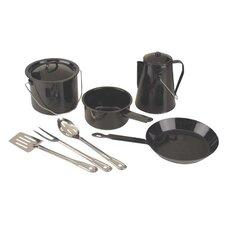 Enamel 8-Piece Cookware Set