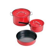 Family Enamel 5-Piece Cookware Set