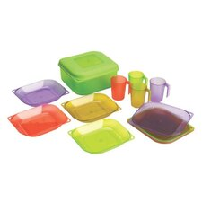 All-in-one 13 Piece Dinnerware Set