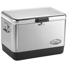 54 Qt. Stainless Steel Belted Cooler