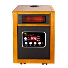 1,500 Watt Electric Infrared Space Heater with Humidifier