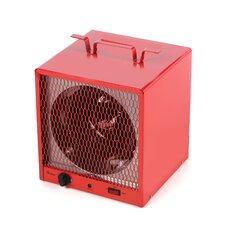 Industrial Heater 19,110 BTU Portable Electric Fan Compact Heater with Adjustable Thermostat