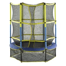 "55"" Kids Trampoline with Enclosure"