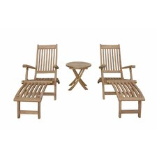 Tropicana Montage Steamer Lounge Chair Set
