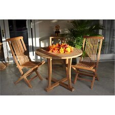 Bristol 3 Piece Dining Set