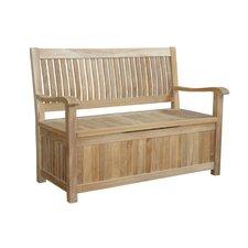 Del-Amo Teak Storage Bench