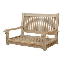 Del-Amo Straight Swing Teak Garden Bench