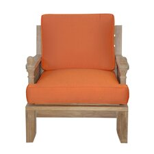 Luxe Arm Chair with Cushions