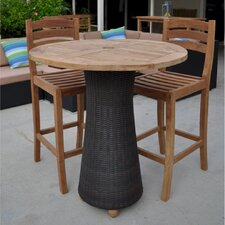 Mandalay 3 Piece Dining Set