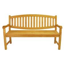 Kingston 3-Seater Teak Garden Bench