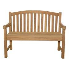 Chelsea 2-Seater Teak Garden Bench