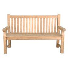Devonshire 3-Seater Extra Thick Teak Garden Bench