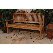 Del-Amo Teak Garden Bench
