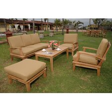 Brianna 5 Piece Deep Seating Group (Set of 2)