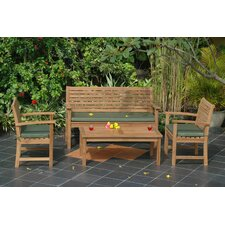 Montage 4 Piece Bench Seating Group