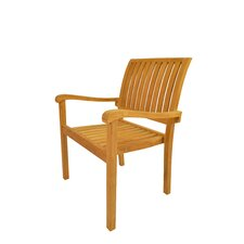 Aspen Stackable Dining Arm Chair (Set of 4)
