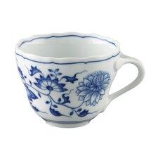 6-tlg. Kaffee-Obertasse Blau Zwiebelmuster