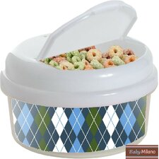 Argyle 12 Oz. Single Canister Snack Container